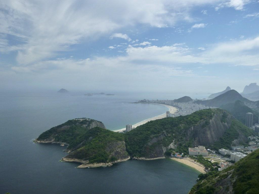 View from Sugarloaf Mountain / Pao de Acucar Rio de Janeiro Brazil