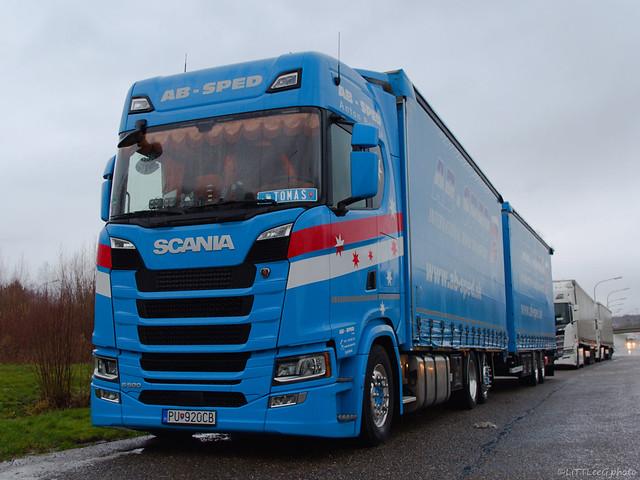 Scania S500 NG Highline AB-Sped (SK)