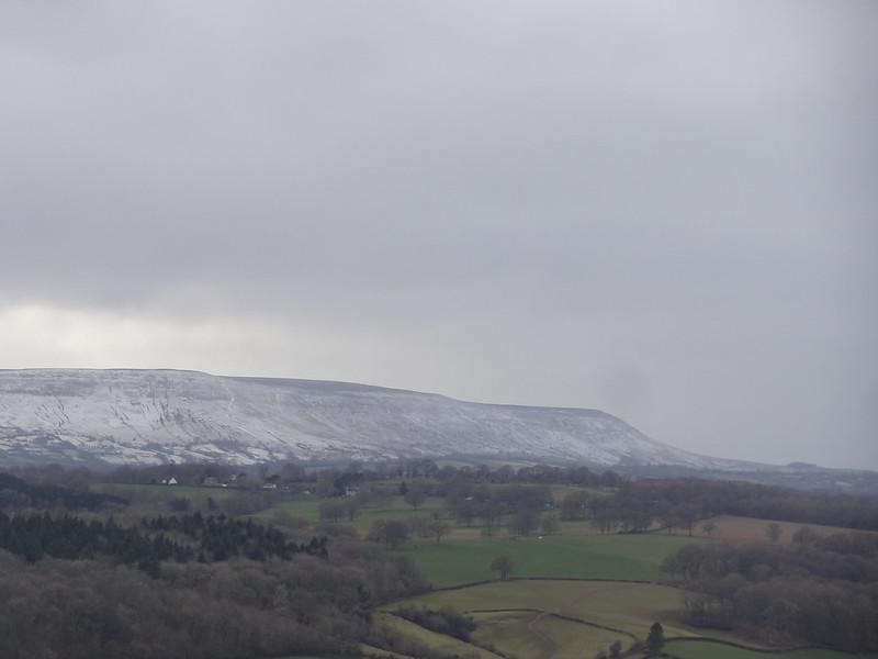Slight Snow on Hatterall's Ridge