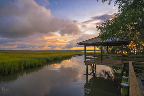a7rii alpha atlantic beaufort emount fe1635mmf4zaoss ilce7rm2 sc sony south southcarolina atardecer clouds fullframe grass landscape marsh mirrorless pier puestadelsol reflection sunset water wetland datawisland