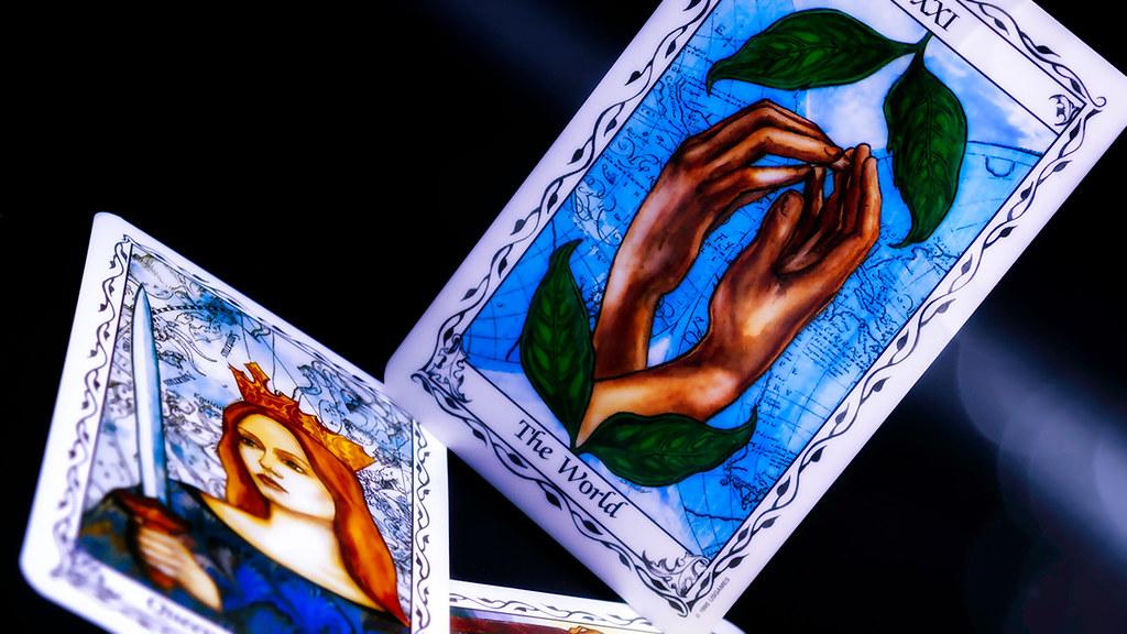 Tarot cards - Susan Hudes deck