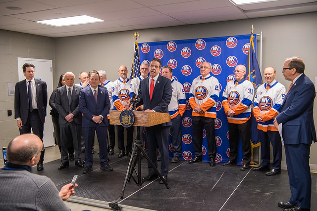 Governor Cuomo Announces New York Islanders Will Return to Long Island One Year Ahead of Schedule