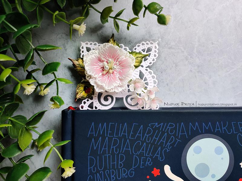 Lacy Floral Bookmark_Nupur Priya_03