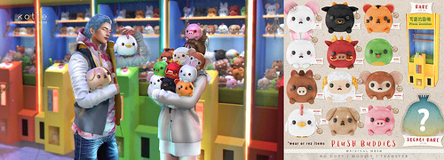 kotte - plush buddies @The Arcade