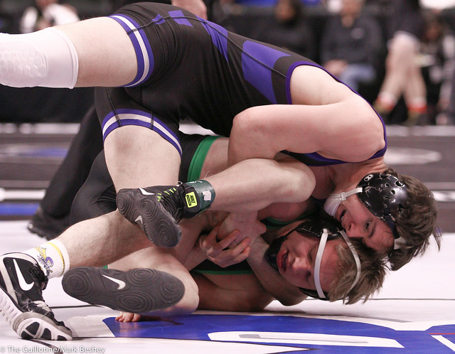 170AAA Semifinal - Gabe Nagel (Little Falls) 41-1 won by fall over Josh Oathoudt (Faribault) 38-5 (Fall 2:15) - 200229amk0243