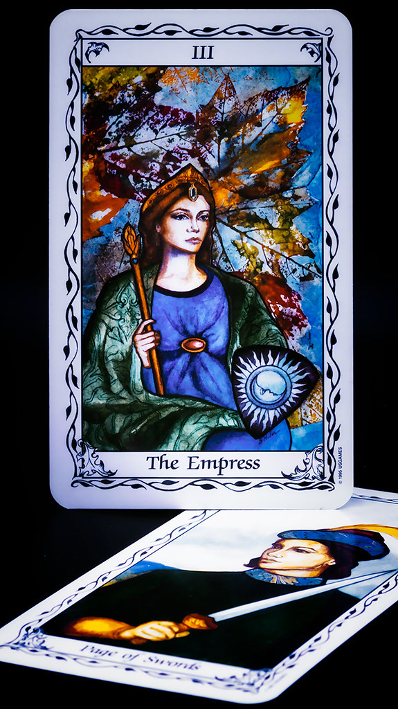 Tarot cards - the Susan Hudes deck