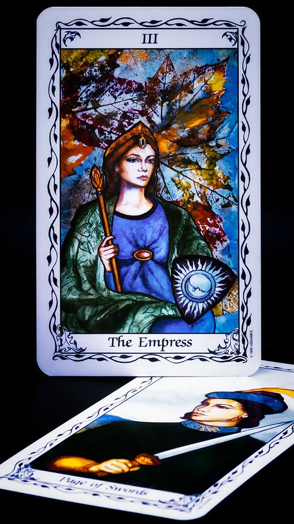 Tarot cards - the Susan Hudes deck
