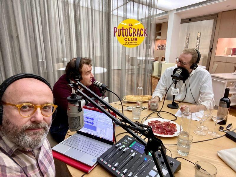 Foto 2 El PutoCrack Club Santos Ruiz Bernd H Knoller Paco Cremades La Fabrica de Radio