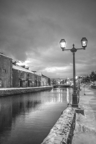 ACROS 01-03-2020 Otaru Canal in early morning (3)