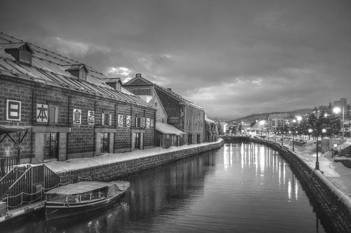ACROS 01-03-2020 Otaru Canal in early morning (1)