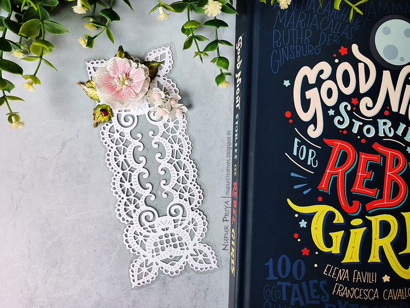 Lacy Floral Bookmark_Nupur Priya_01