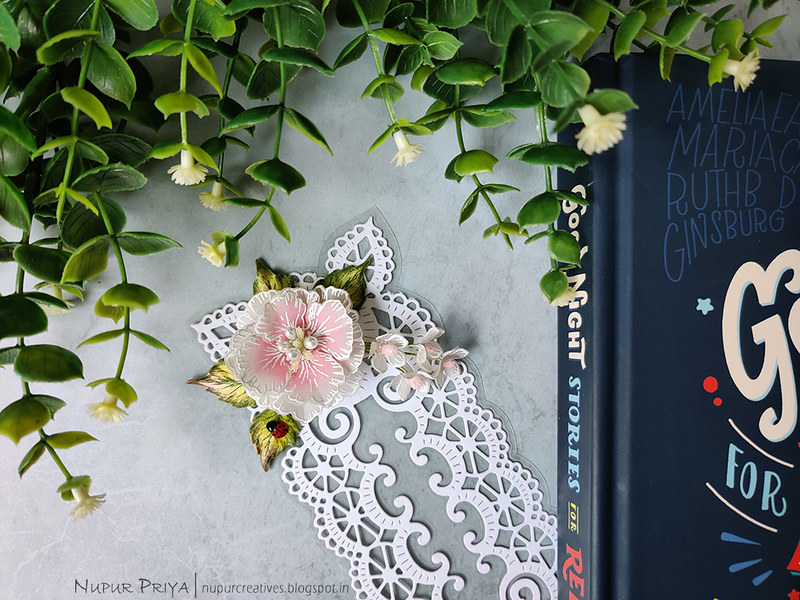 Lacy Floral Bookmark_Nupur Priya_02