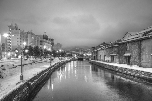 ACROS 01-03-2020 Otaru Canal in early morning (5)