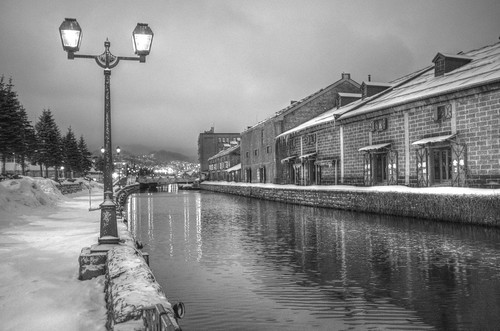 ACROS 01-03-2020 Otaru Canal in early morning (4)