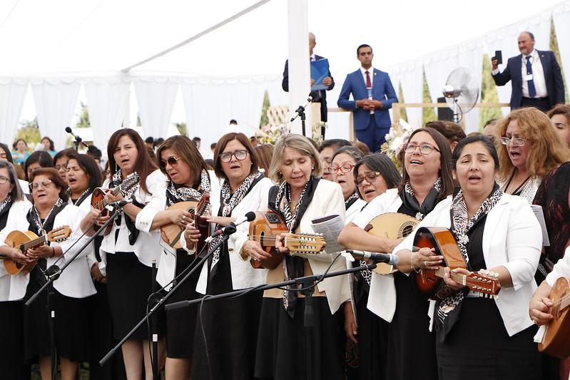 """""""A Dios sea la gloria"""": Oportunidad de Diaconisa y Coro de Pastoras en la 111ª Conferencia"""