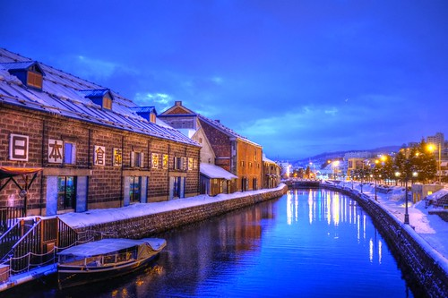 01-03-2020 Otaru in early morning (1)