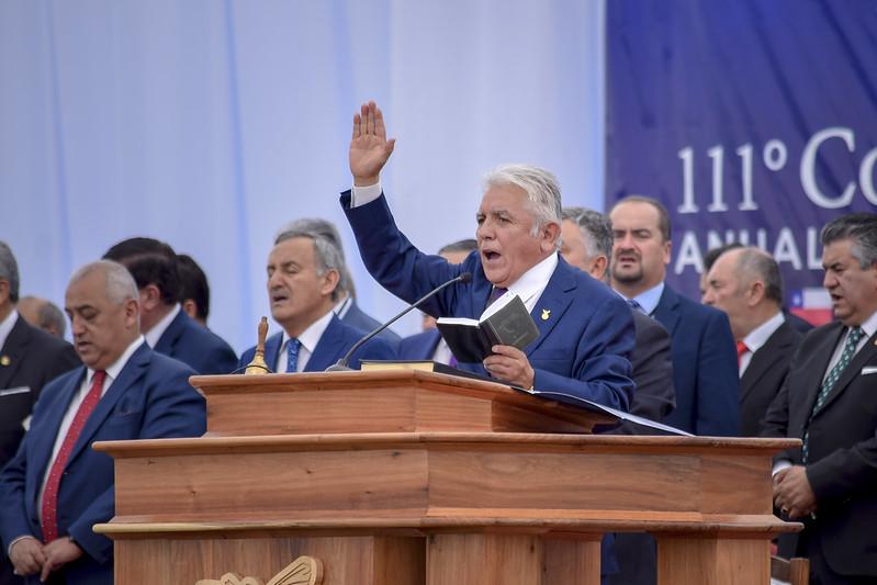 """""""Hasta aquí nos ha ayudado Jehová"""": Bendecido Culto de Clausura de la 111° Conferencia"""