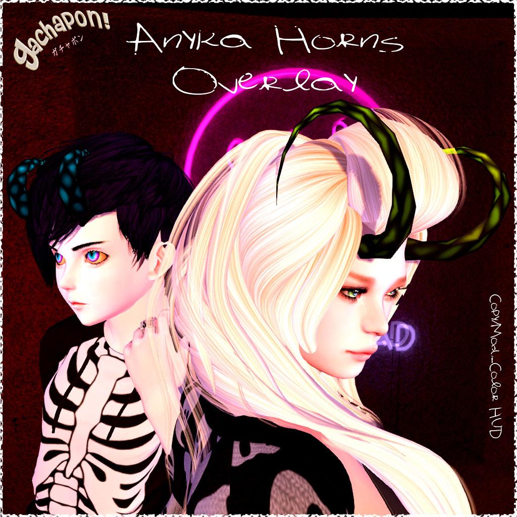 Anyka Overlay Horns