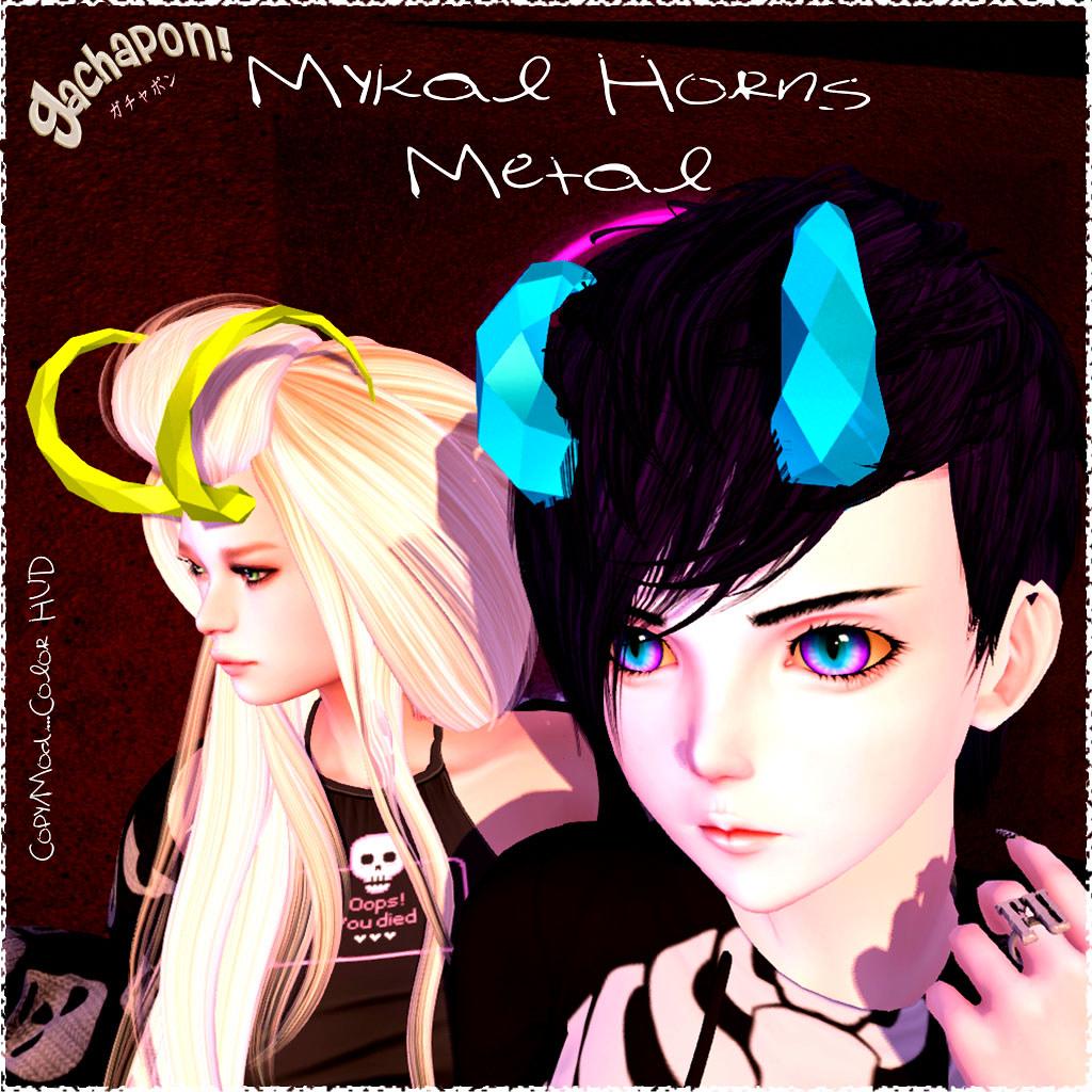 Mykal Metal Horns