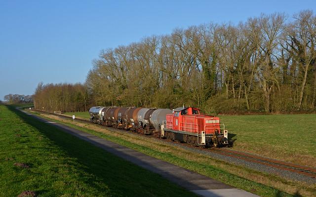 DB Cargo 296 041-7 - Fahrenholz