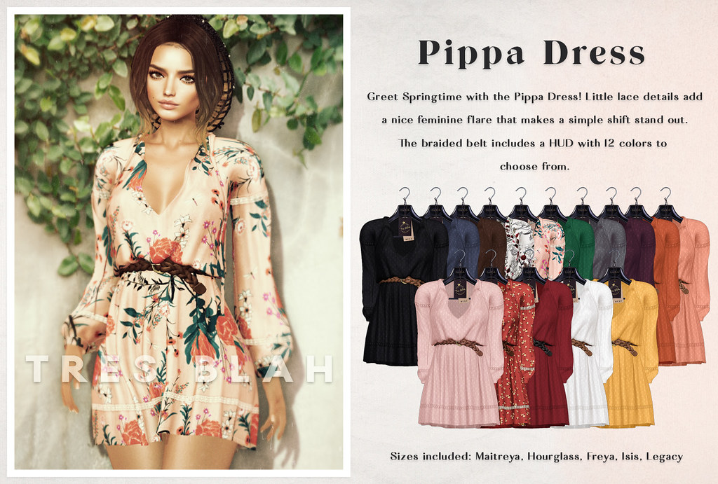 Tres Blah - Pippa Dress March 2020