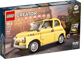 小巧精緻的古典義式浪漫~ LEGO 10271 Creator 系列「飛雅特 500」(Fiat 500) 優美上路!