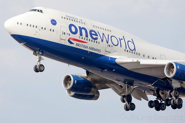 Boeing 747-400 British Airways