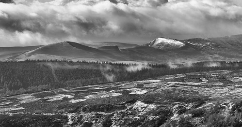 landscape derbyshire peakdistrict darkpeak derwentedge backtor thegreatridge snow winter losehill mamtor rushupedge
