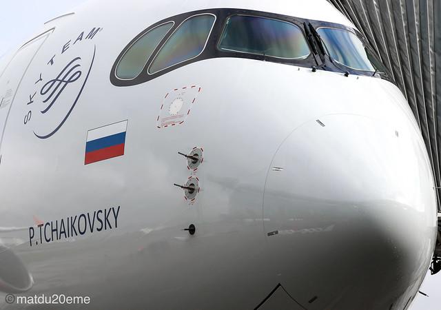 First Airbus A350-900 /Aeroflot