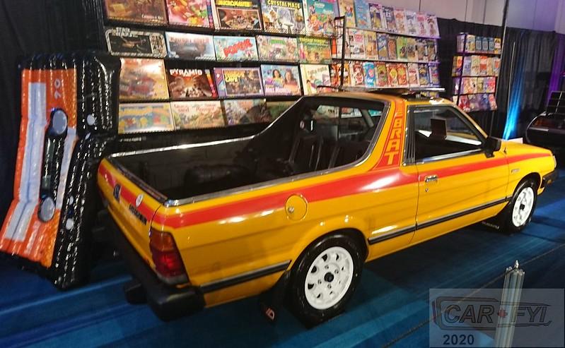 1986 Subaru BRAT Pickup at Oblivion Exhibition at 2020 CIAS