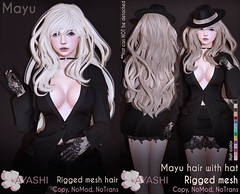 [^.^Ayashi^.^] Mayu hair with or without hat special for Kinky Event