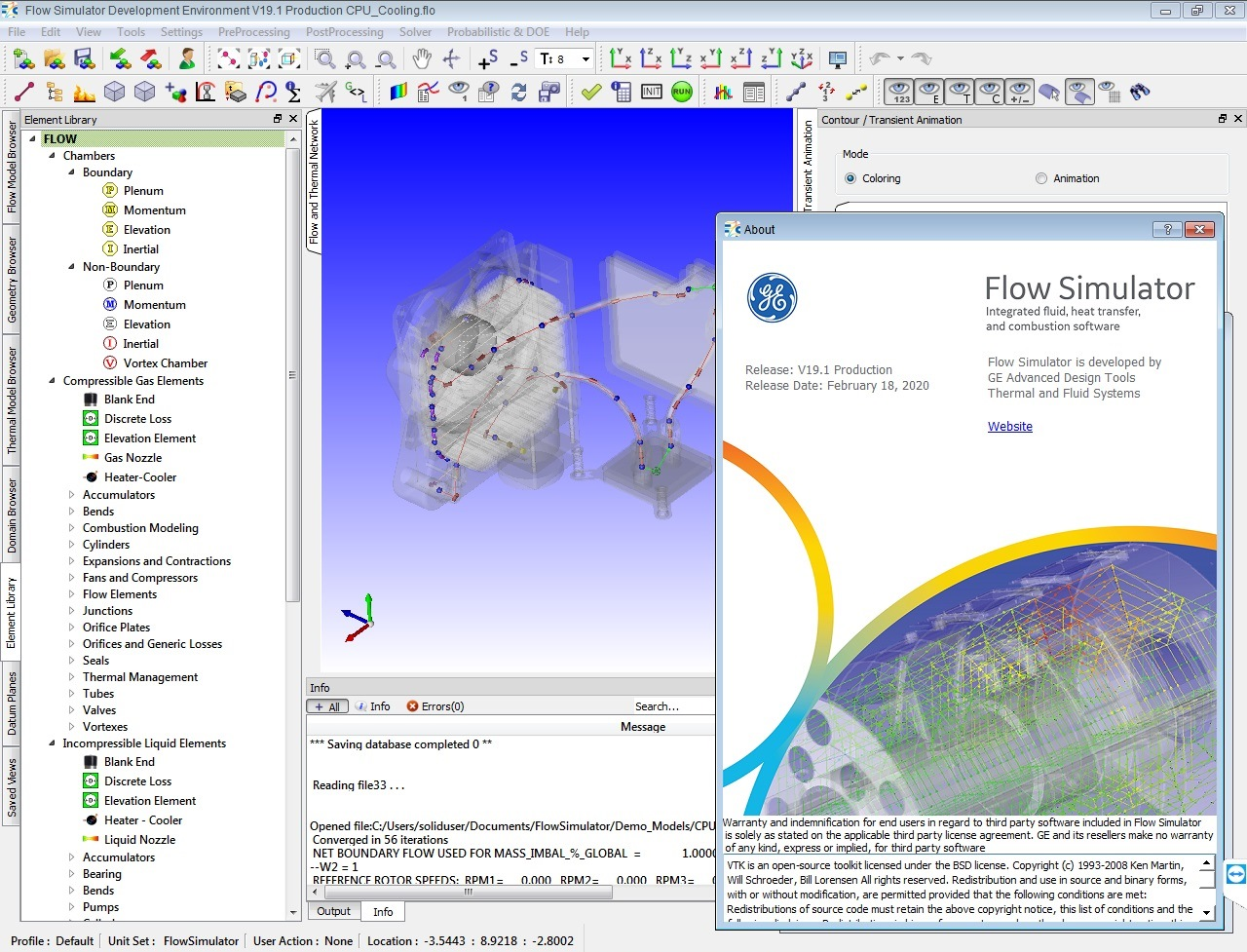 Working with Altair Flow Simulator v19.1.1 full license
