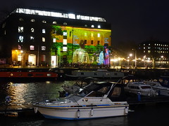Bristol Light Festival 2020 'Wildlife on the Waterfront'