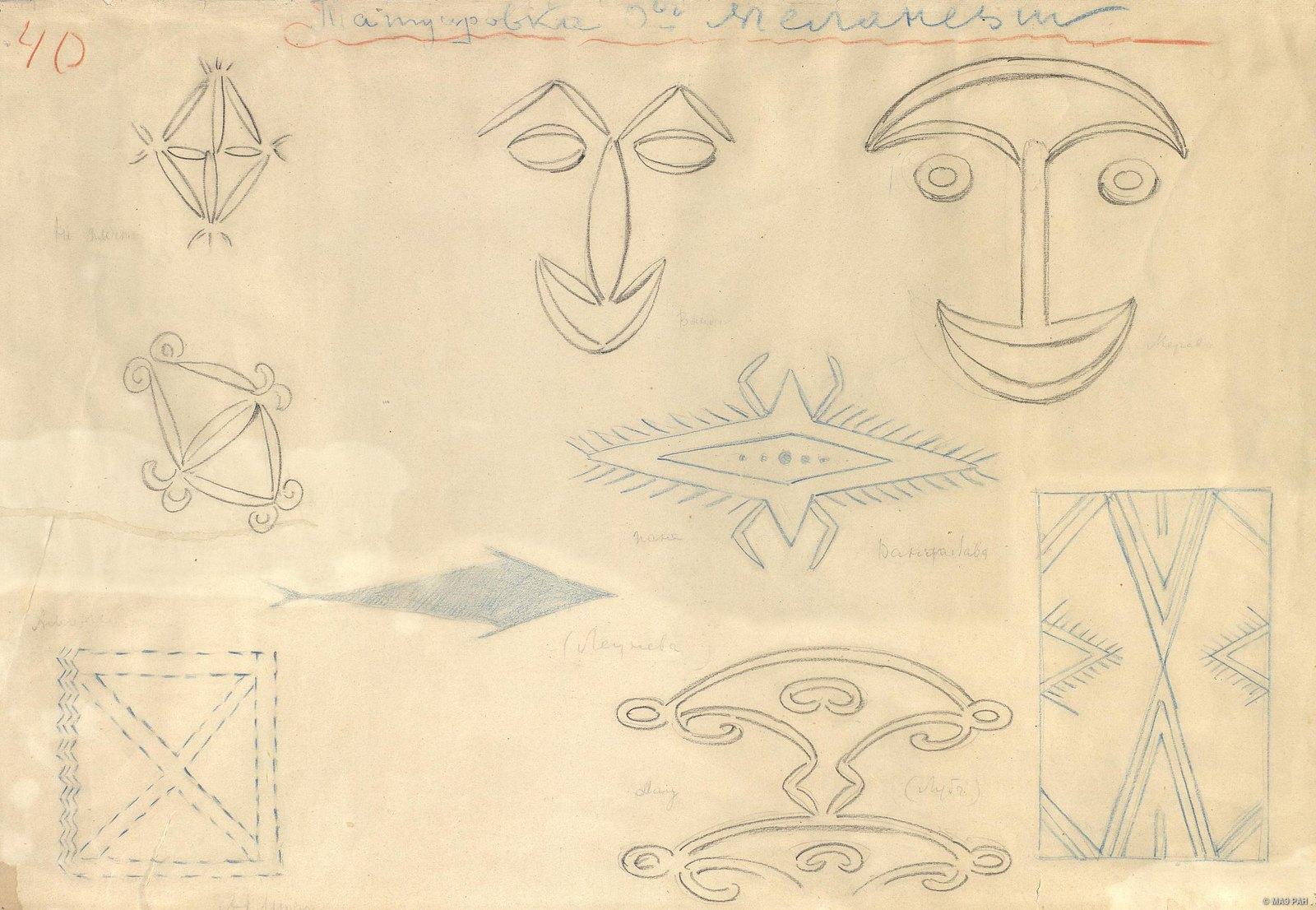 1880-е. Татуировка о-вов Меланезии
