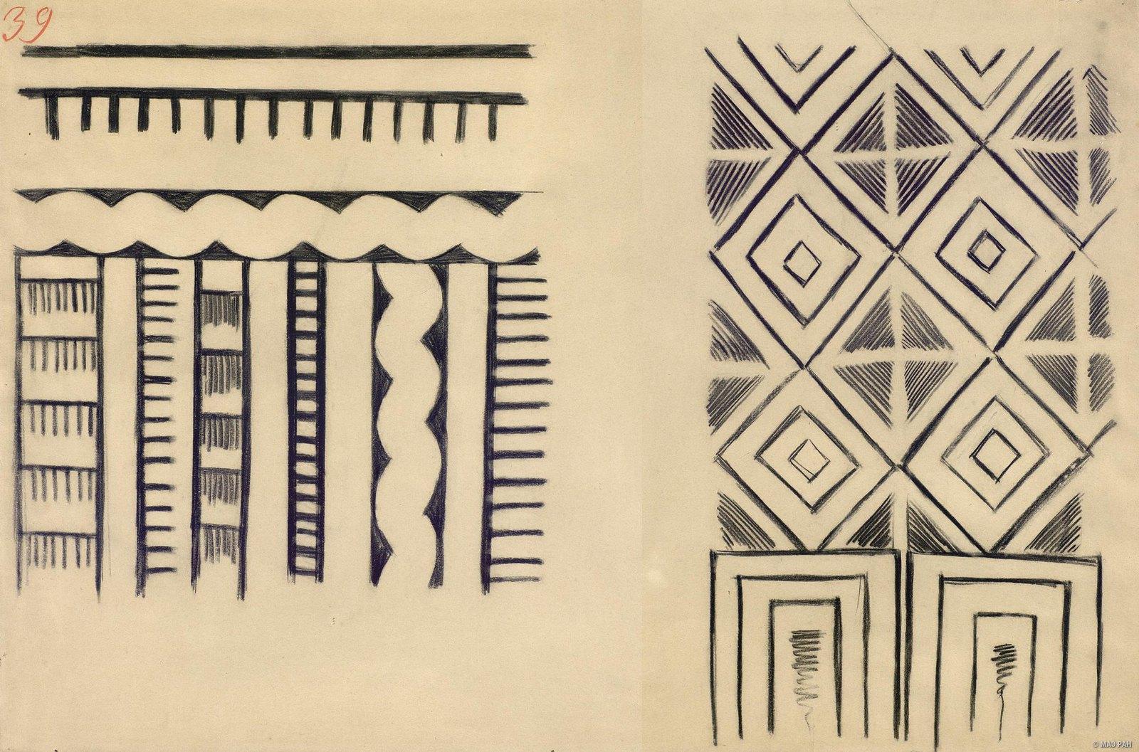 1880-е. Образцы орнаментов папуасов берега Маклая. Папуасы Новой Гвинеи (3)