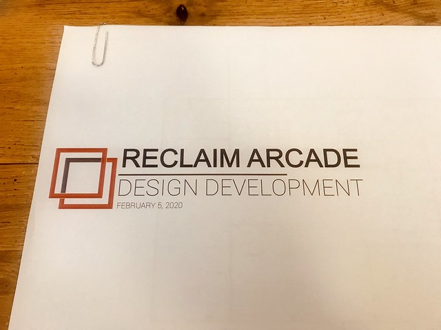 Recalim Arcade Design Development