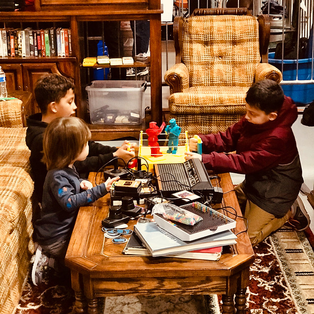 Reclaim Arcade Living Room Test-run