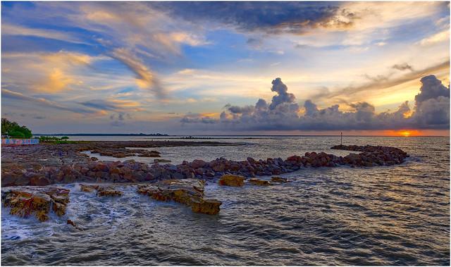 Timor Sea sunset - Darwin Harbour, NT, Australia - Part 2