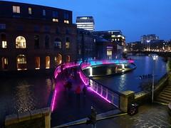 Bristol Light Festival 2020 'Pink Enchantment'