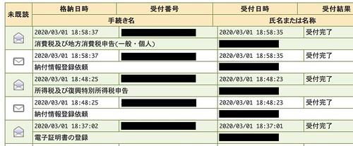 e-Tax 確定申告 done