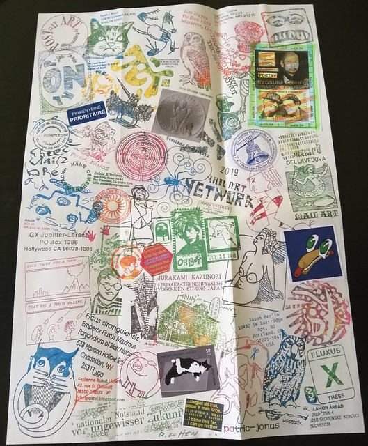 MAIL ART PROJECT #IYE2020 draw your cover // Release 24 - fanzine