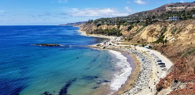 White Point Beach in the San Pedro neighborhood of Los Angeles.