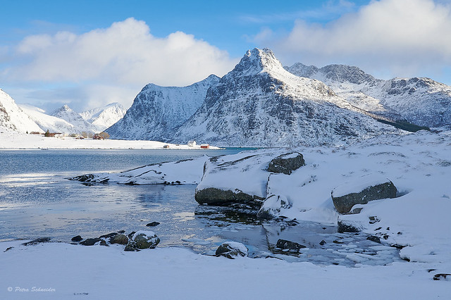 Lofoten with a lot of snow