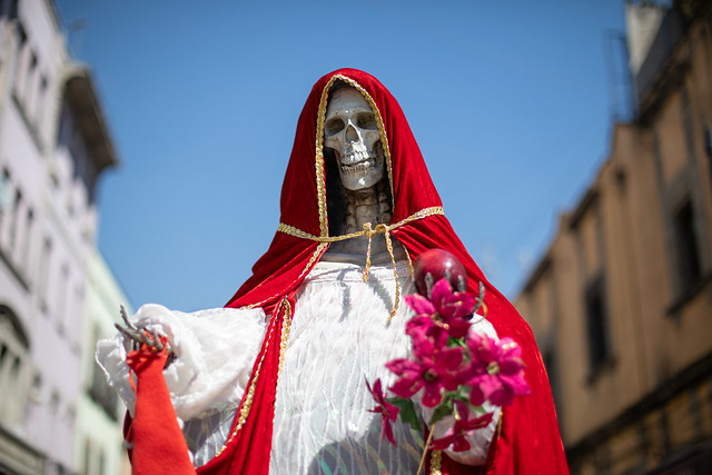 Santa Muerte, Mexico City
