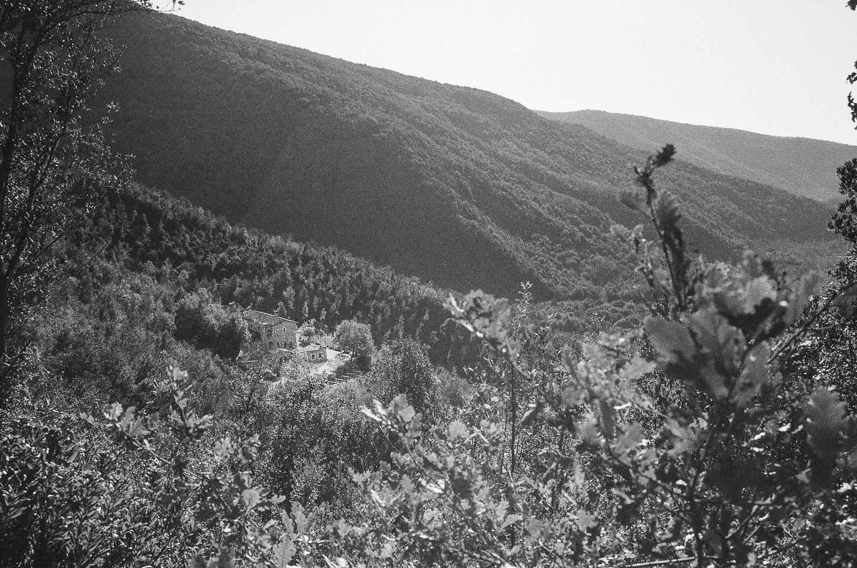 Retraite spirituelle en Ombrie - L'ermitage noyé dans la forêt