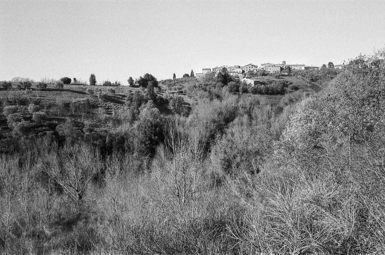 Retraite spirituelle en Ombrie - Le petit village de Parrano, perdu dans les oliviers