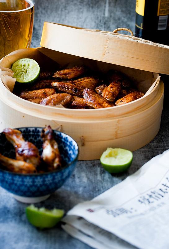 Teba Shichimi (japanese chicken wings)