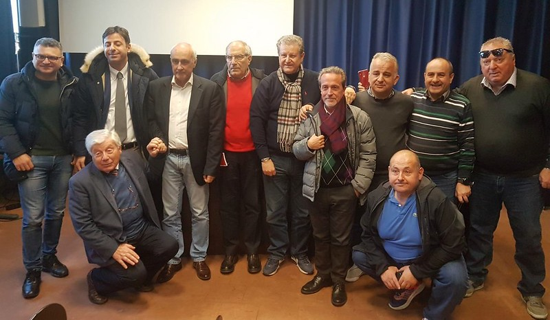 Foto di gruppo dell'USSI di Catania