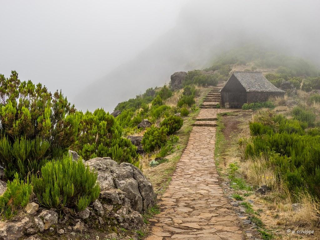 Madeira, Wanderung zum Pico Ruivo
