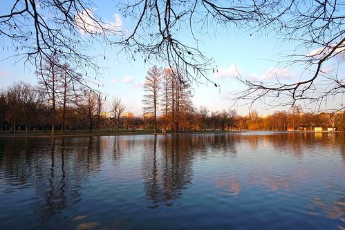 landscape bucurești românia ior titan lake park reflections nature outdoor water sector3 samsungnxmini sunset